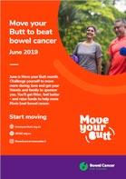 Bowel Cancer NZ move your butt