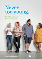 never too young campaign