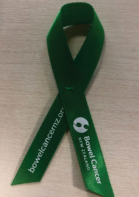Bowel cancer NZ ribbon
