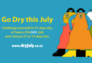 Dry July for Bowel Cancer