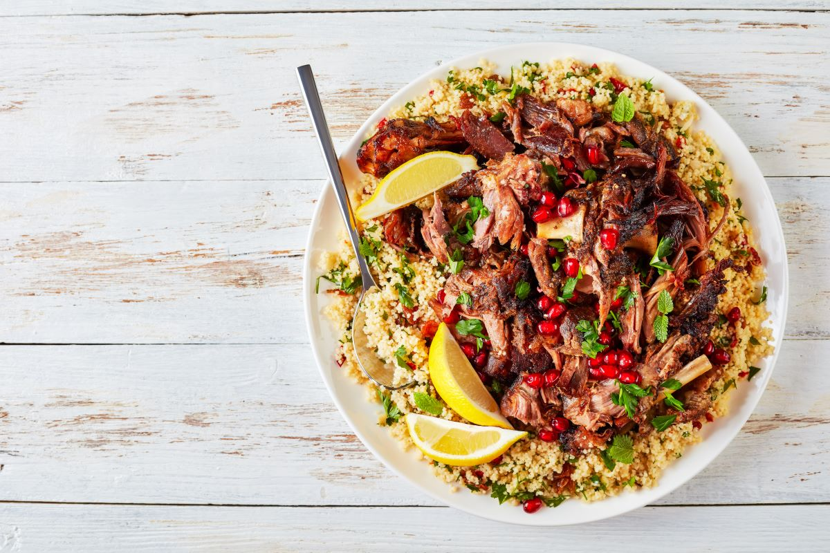 Lamb Salad recipe for bowel cancer prevention