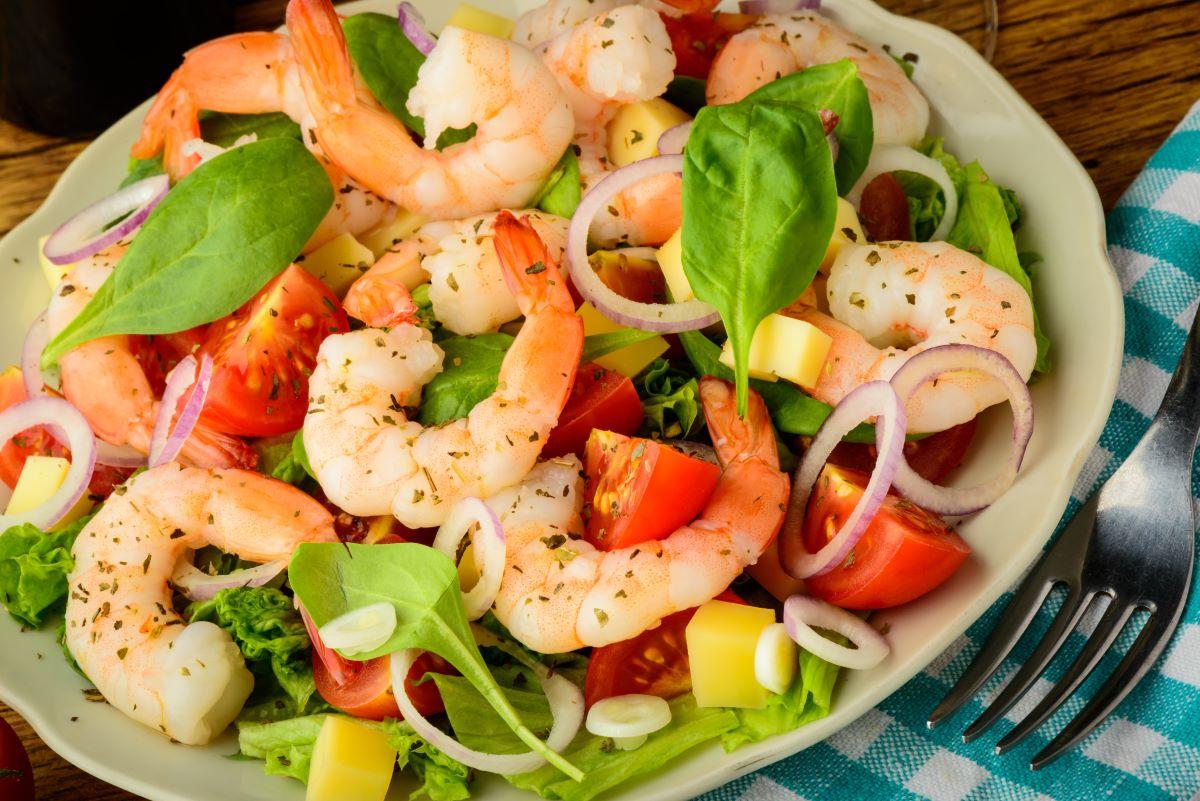 prawn salad re3cipe