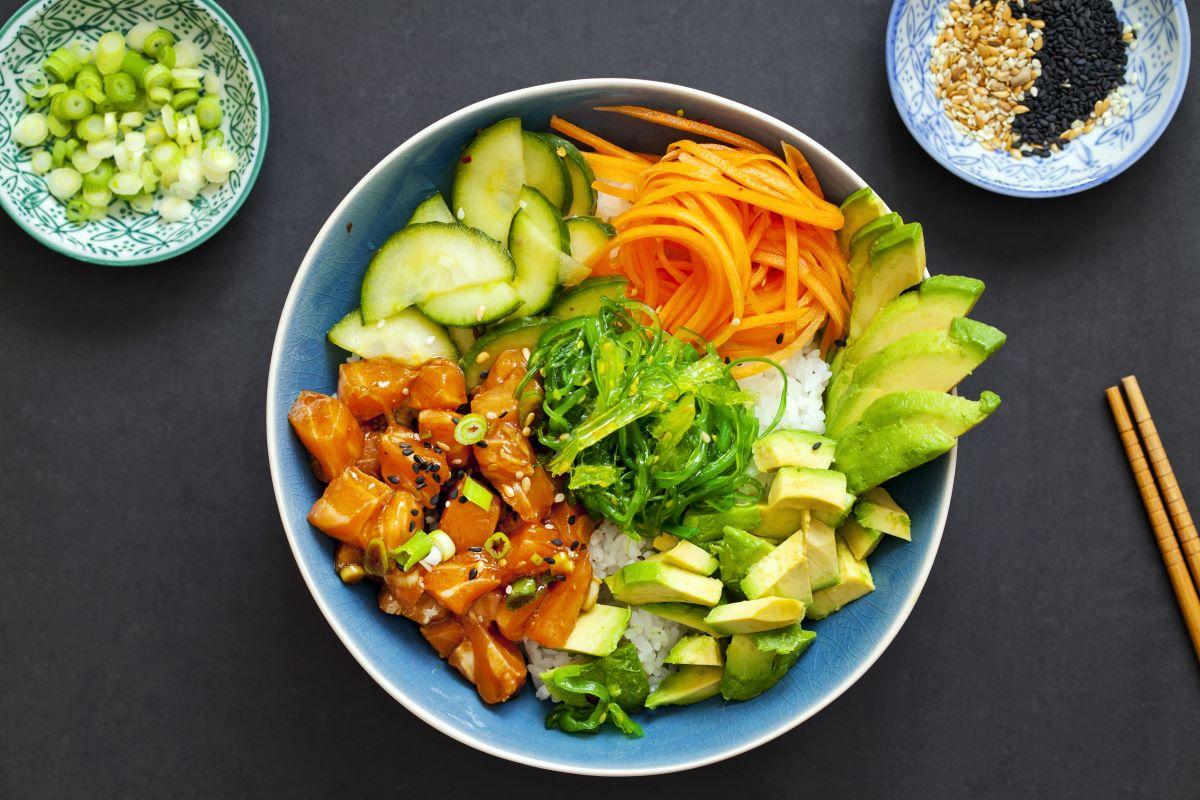 Sushi recipe for bowel cancer prevention