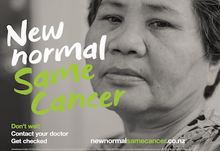 New Normal Bowel Cancer NZ campaign